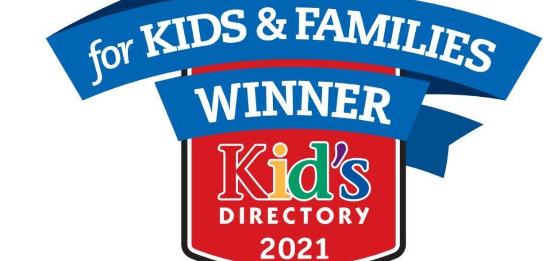 Kid's Directory Winner Graphic