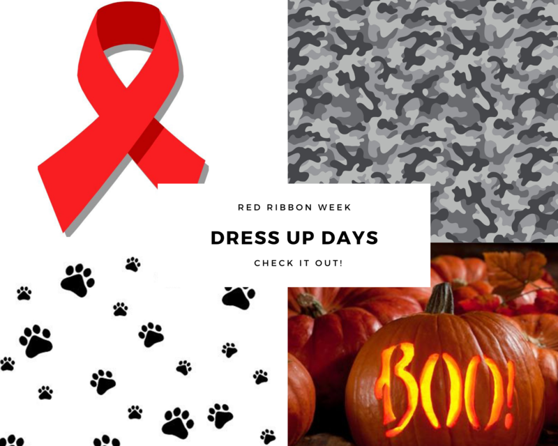 Red Ribbon Week Dress Up Days! Featured Photo