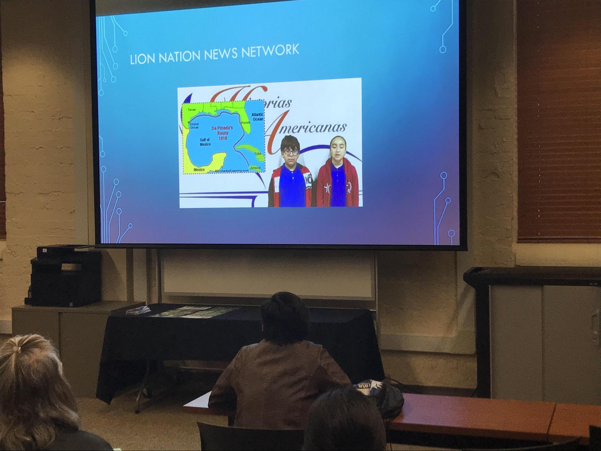 Presentation on Screen