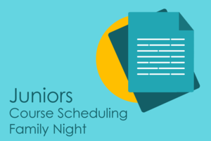 Image Junior Course Scheduling Family Night