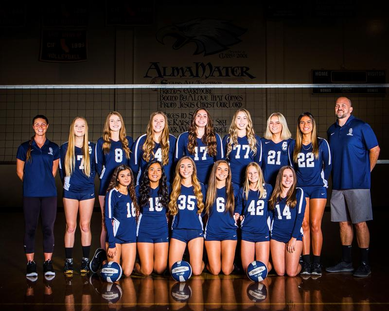Girls Volleyball League Champs & Advances to CIF! Featured Photo