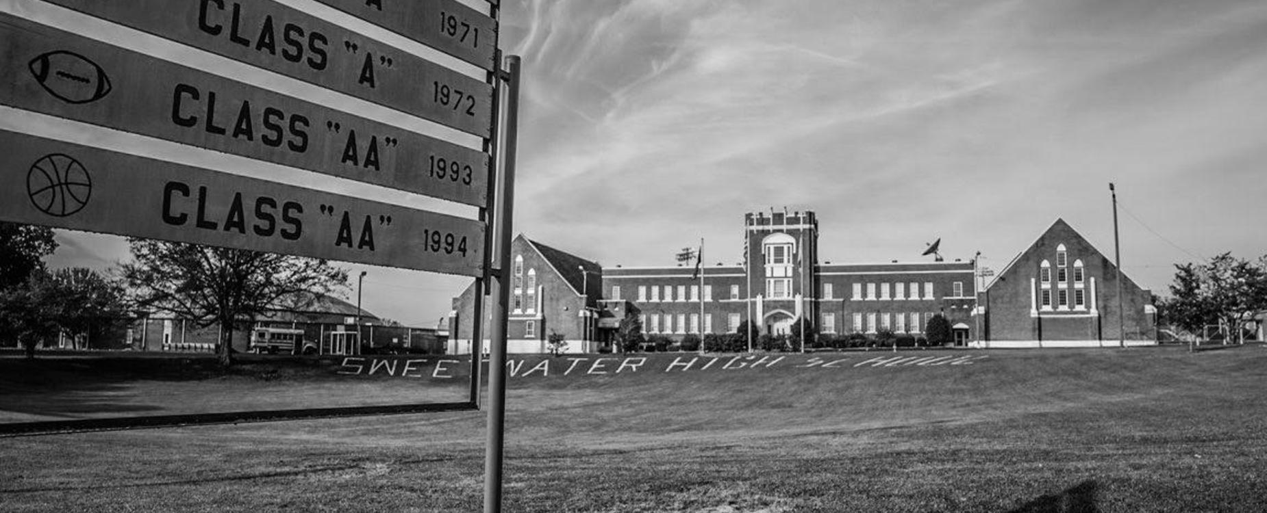 Front of SHS High School