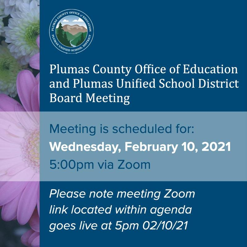 PCOE board meeting agenda 2-10-21