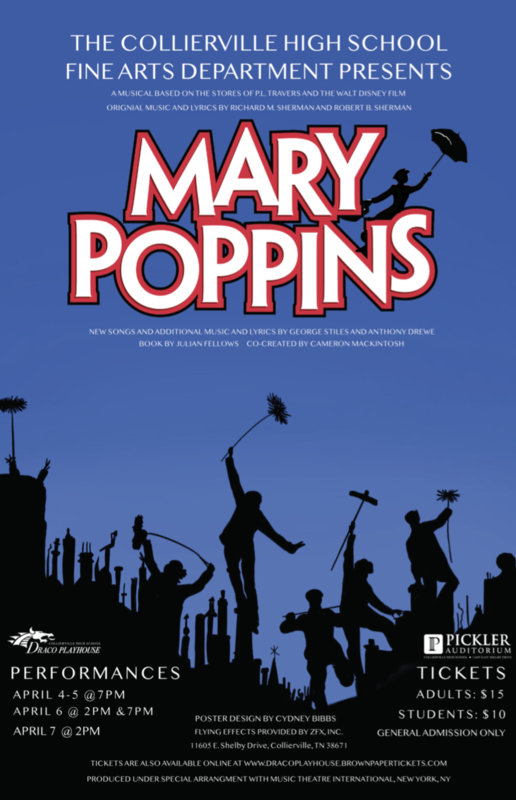 CHS Fine Arts Department Presents Mary Poppins Featured Photo