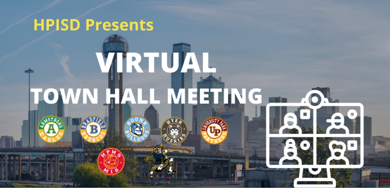 HPISD to host 3 Town Hall Meetings beginning June 2 Featured Photo