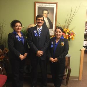CA Mrs. Lopez, Principal Mr. Cano, Counselor Mrs. Villarreal