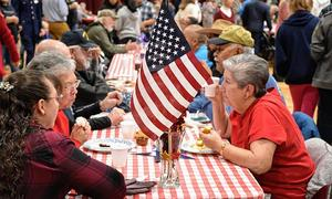 Pagosa Springs residence enjoy Veterans Day breakfast