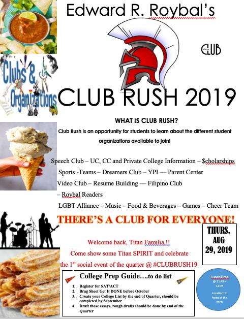 Club Rush 2019