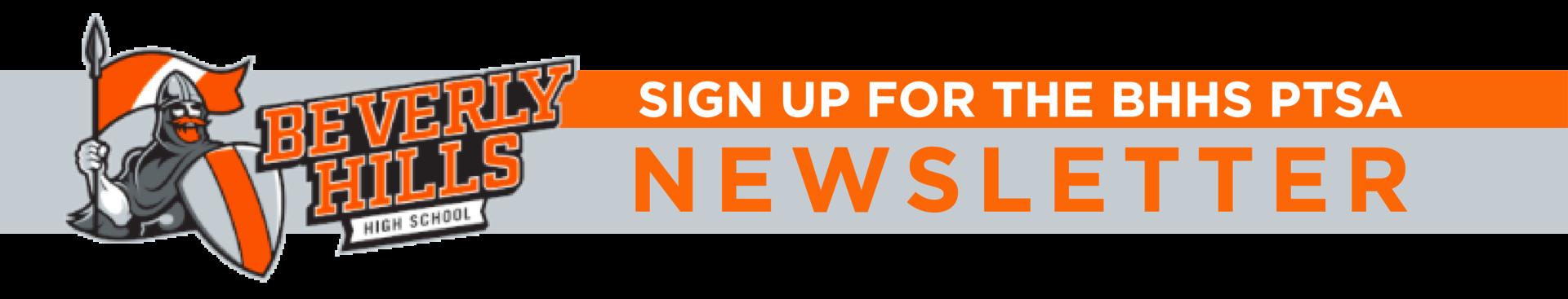 BHHS PTSA newsletter sign up