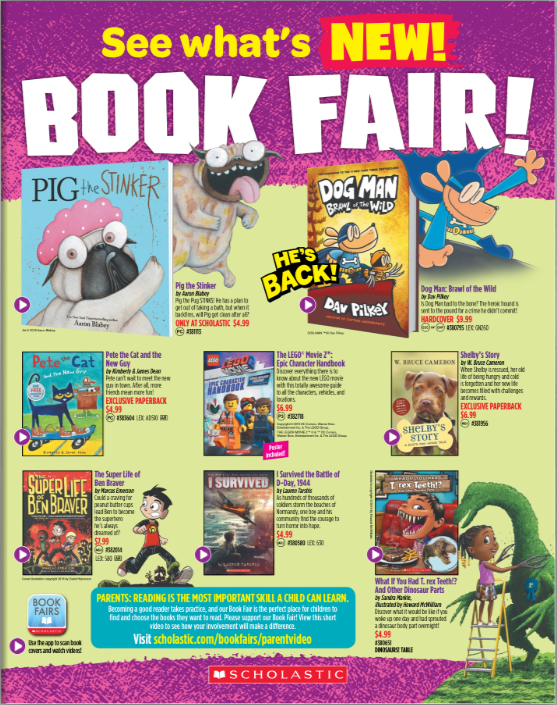LES Book Fair Begins on March 15! Thumbnail Image