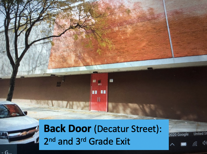 Back Door Exit