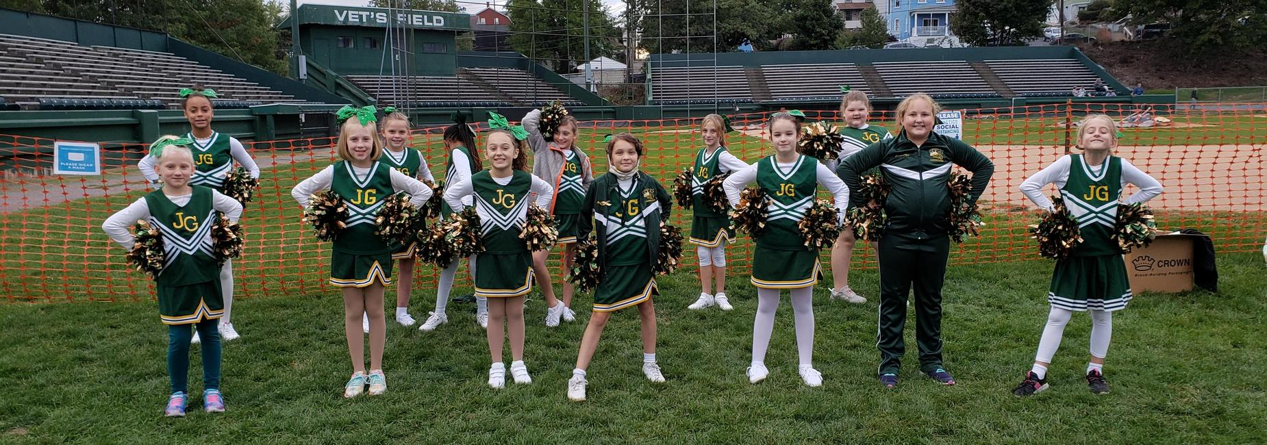 Juniata Gap Cheerleaders