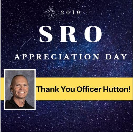 Thank You Officer Hutton! National SRO Day! Thumbnail Image