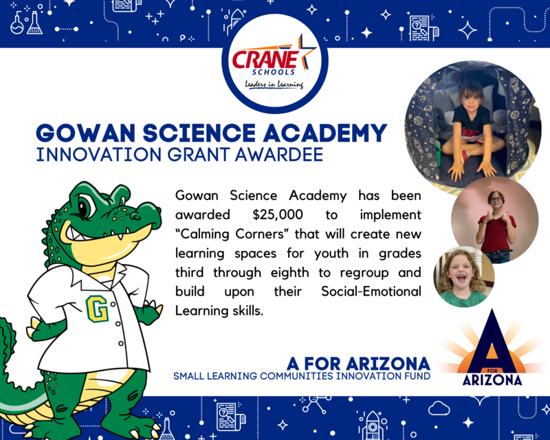 Gowan Science Academy Awarded Innovation Grant Featured Photo