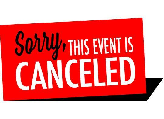 Sorry, this event is canceled image
