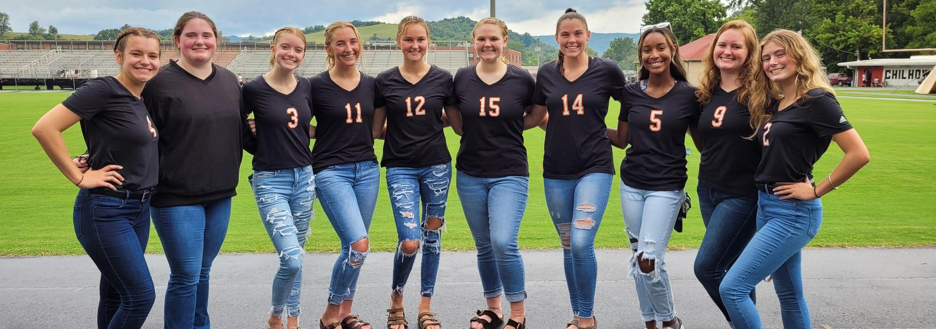 Chilhowie HS Varsity Volleyball Team