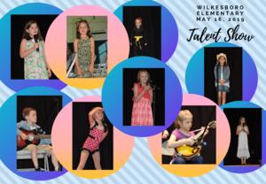 Talent Show participants