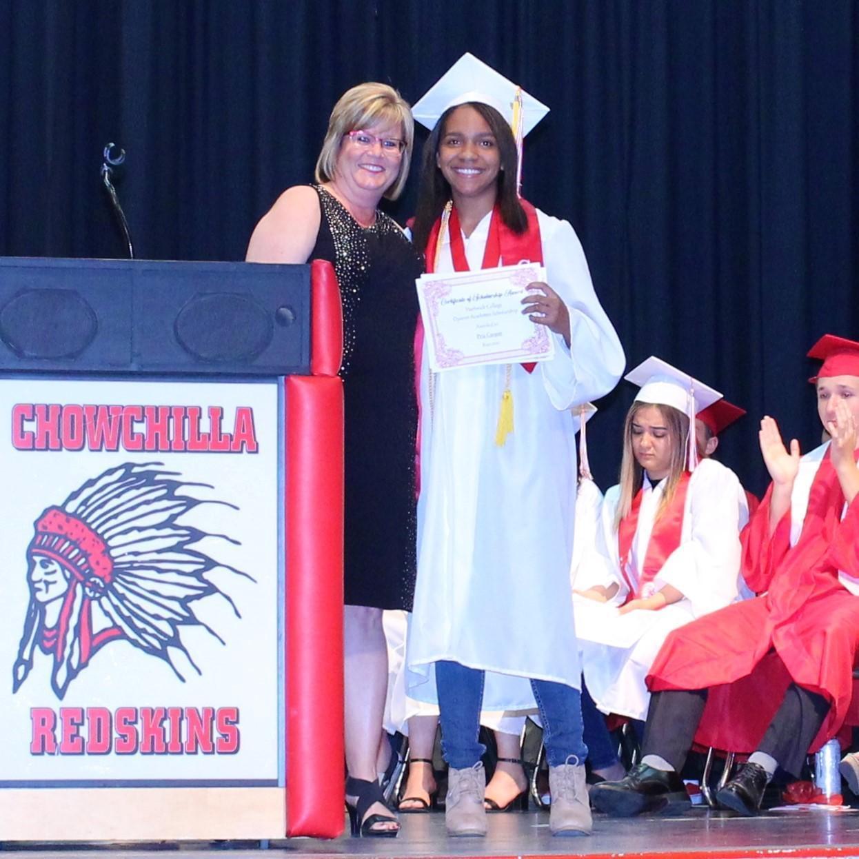 CUHS Principal Doreen Castillo, Pria Cooper