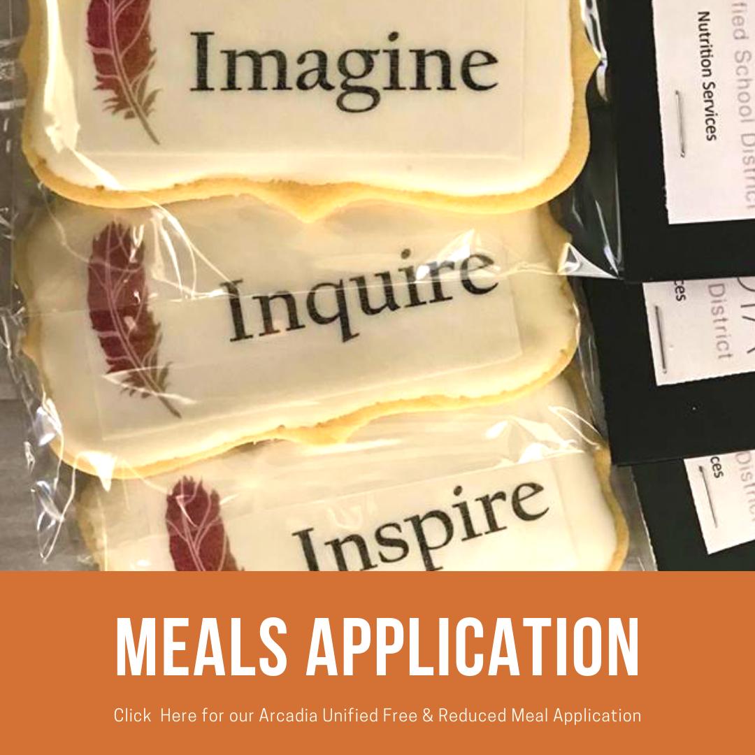 Meals Application Banner