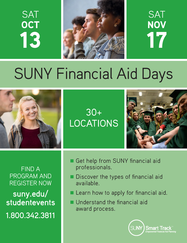 SUNY Financial Aid Days Featured Photo