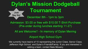 Dylan's Mission Dodgeball Tournament 2018