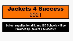 Jackets 4 Success is providing ALL school supplies!!