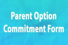 Parent Option Commitment Form due OCTOBER 2, 2020 Featured Photo