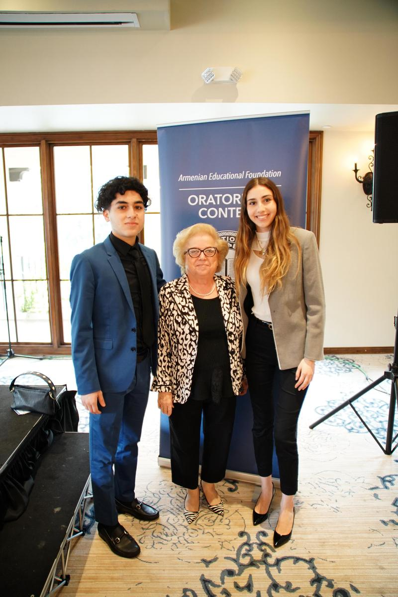 Armenian Educational Foundation Oratorical Contest Featured Photo