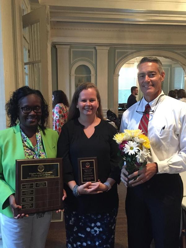 CCSD teacher honored by Coker College Featured Photo