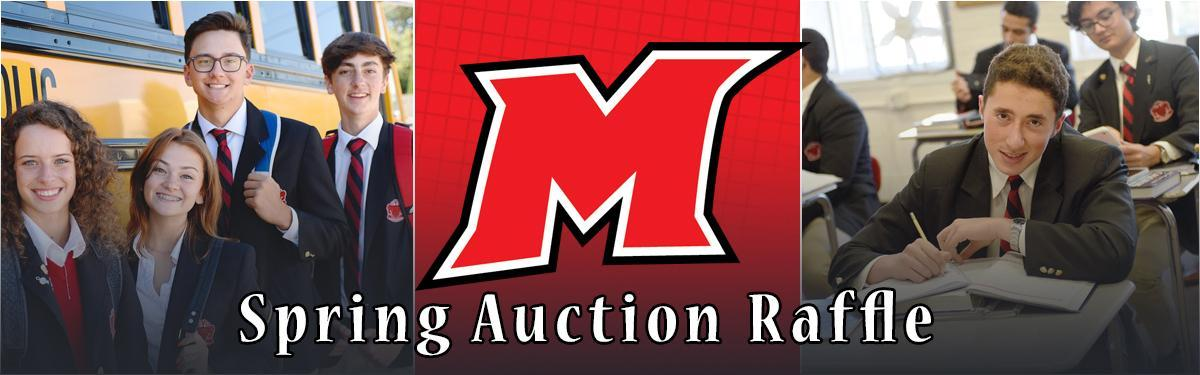 Spring Auction Banner