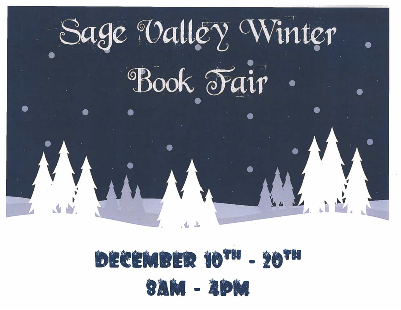 Winter Book Fair December 10th - 20th