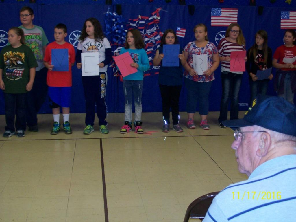 Veterans' Day Observation - Fifth Grade