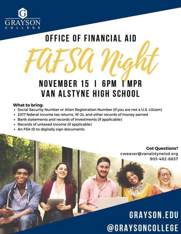 FAFSA Night Thumbnail Image