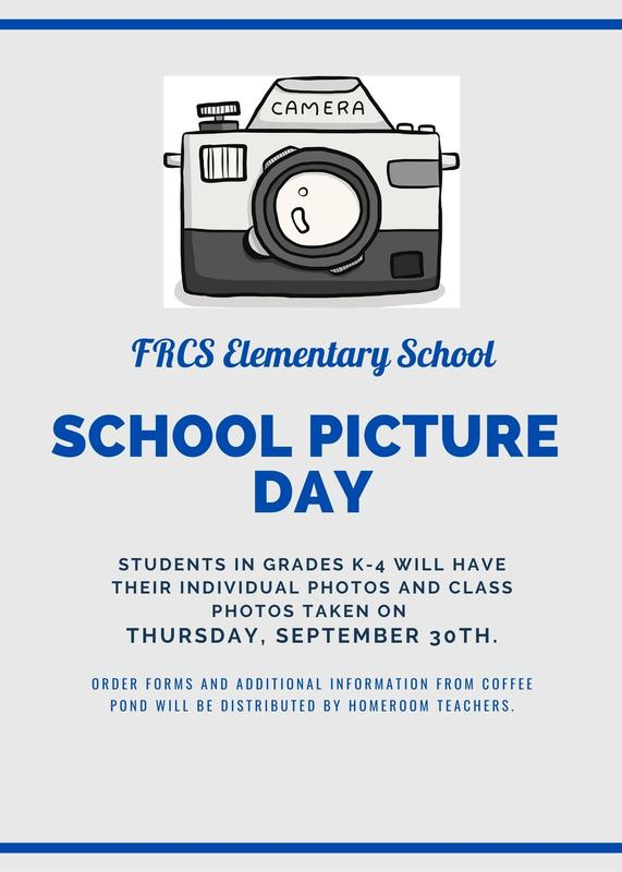 Elementary School Picture Day - Thursday, September 30th! Featured Photo