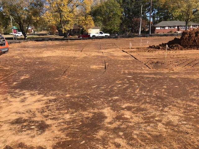 Annex parking lot-dirt