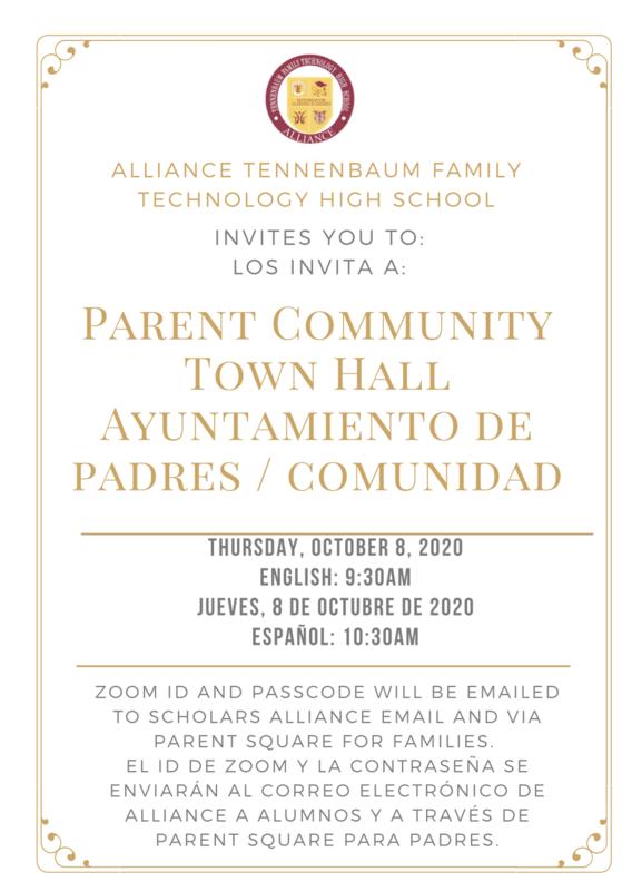 Town Hall Meeting Oct. 8th/ Reunion de Ayuntamiento 8 de Octubre Thumbnail Image