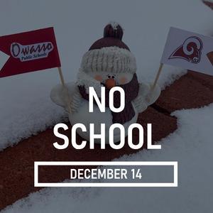 No School Snowman