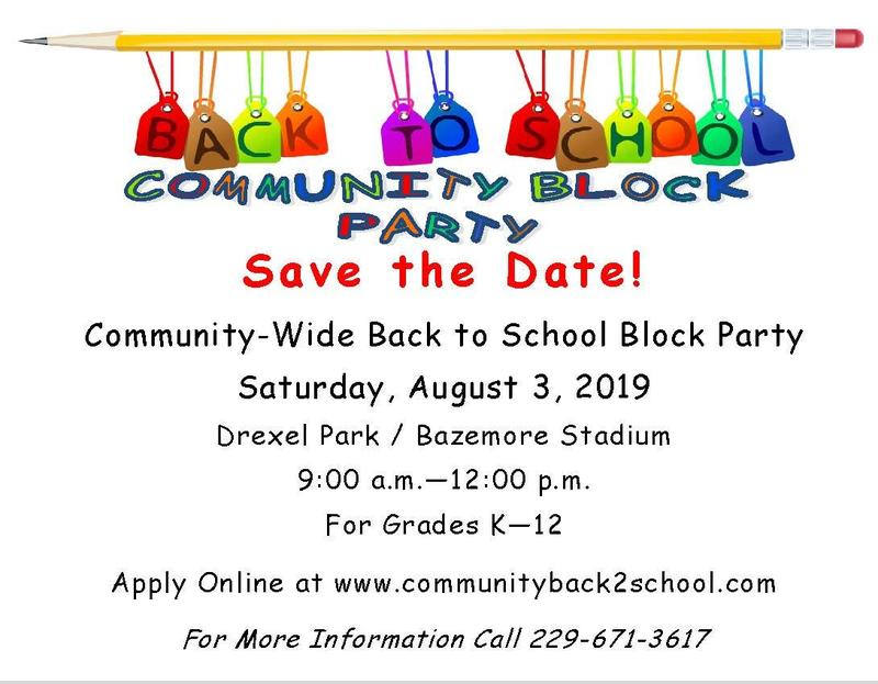 Back to School Community Block Party