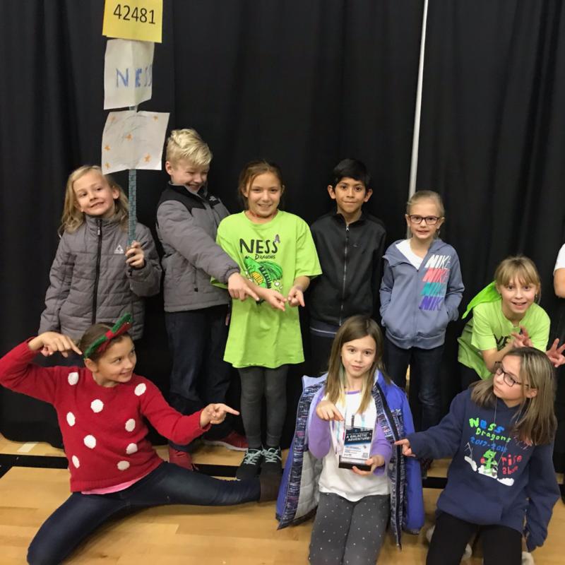 Ness Elementary Robotics team members