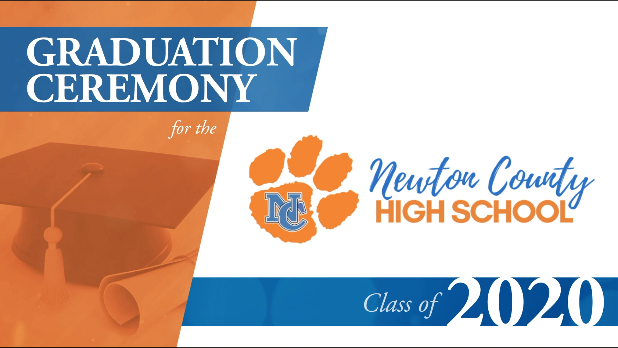 NCHS Class of 2020 Graduation Image