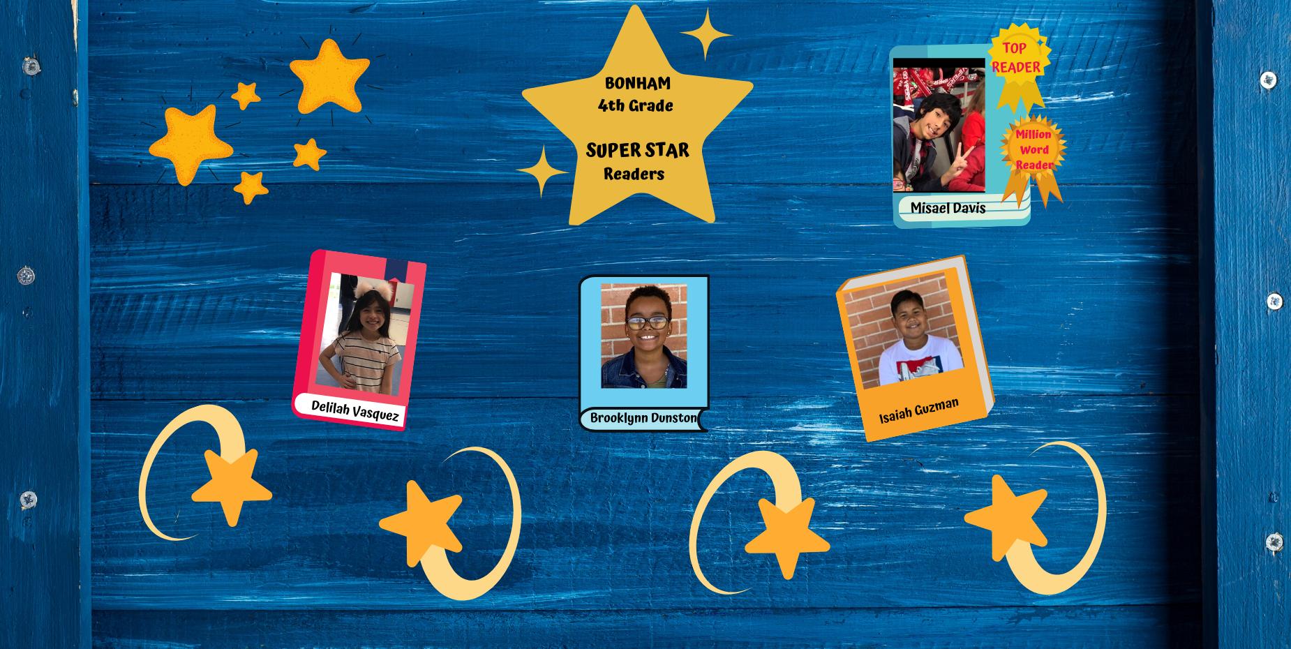 4th grader super readers