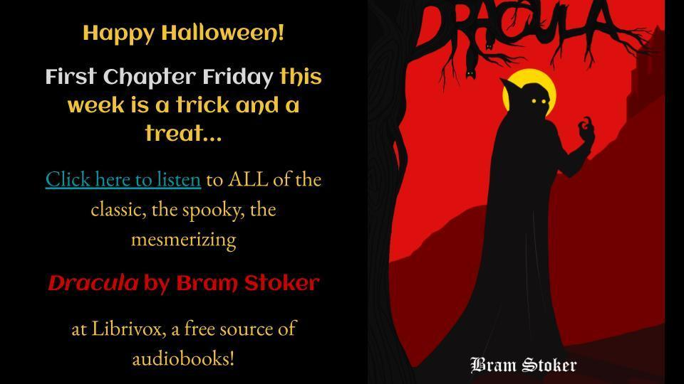 Dracula First Chapter Friday
