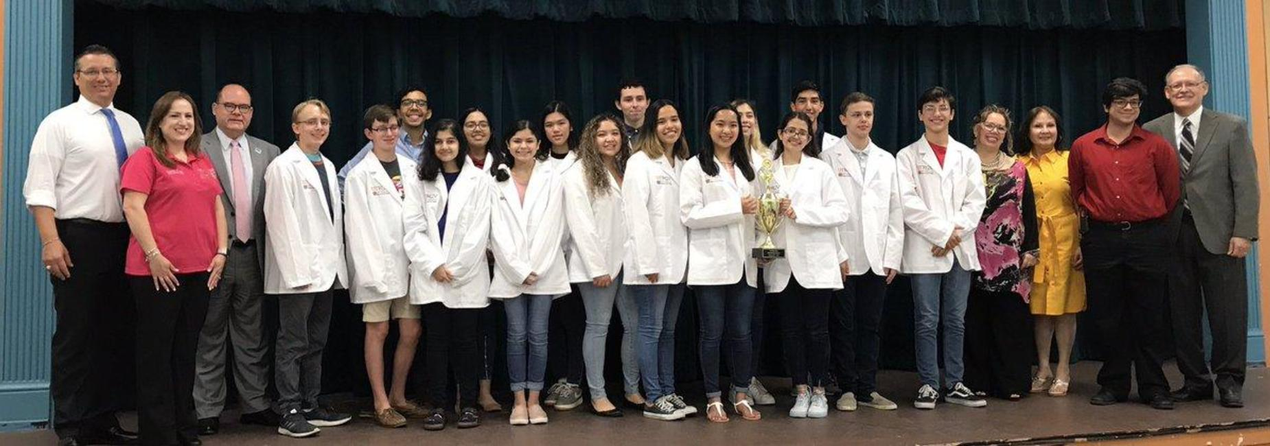 STATE BOUND Science Olympiad team