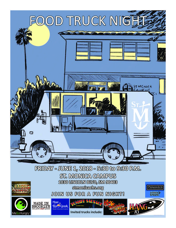 Food Truck Night at St. Monica Featured Photo