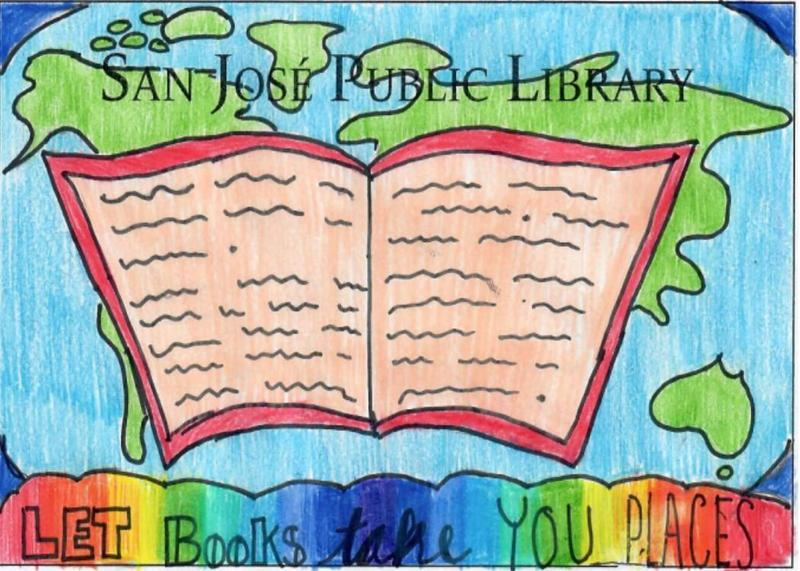 Country Lane Student Wins  Moreland/San Jose Public Library Card Design Contest Thumbnail Image