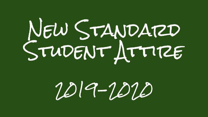 2019-2020 Standard Student Attire Thumbnail Image