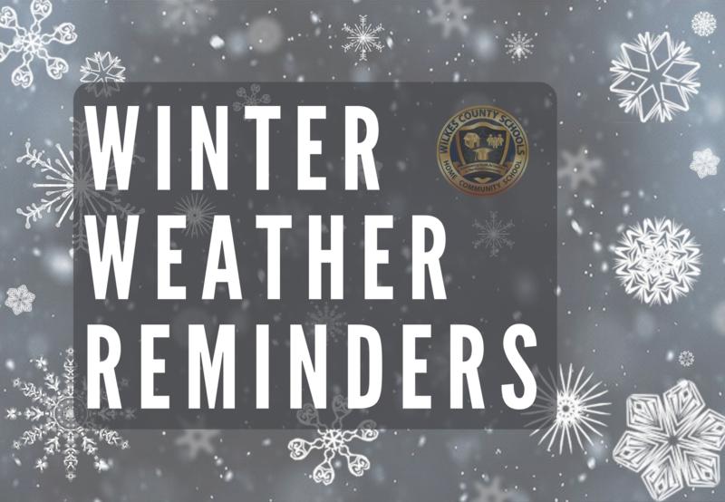 Winter Weather Reminders Thumbnail Image