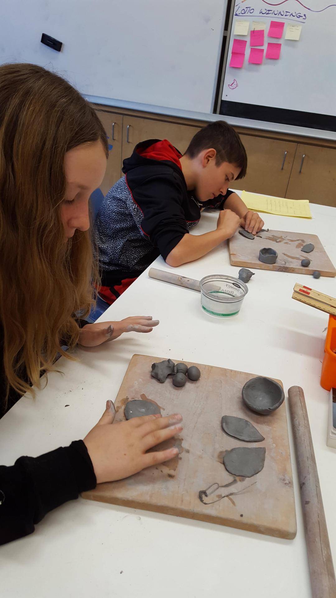 8th grade ceramics