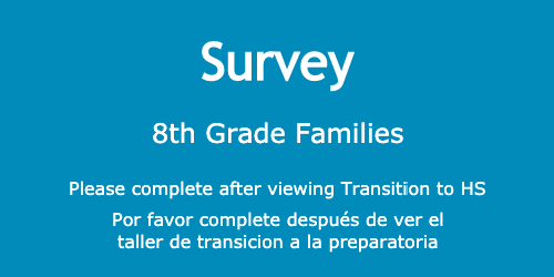 8th Grade Survey