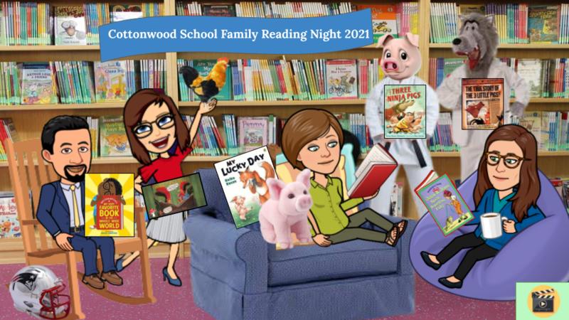 Bitmoji Library for Reading Across America